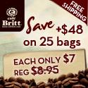 Cafe Britt Fair Trade Coffee
